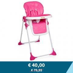 Tweedekans - Baninni Kinderstoel Olivo Roze