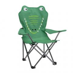 MyHome Chaise de Camping pour Enfants Crocodile