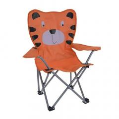 MyHome Chaise de Camping pour Enfants Tigre