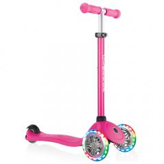 Globber Scooter Vanaf 3 Jaar Primo V2 Lights Roze