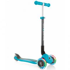 Globber Scooter Vanaf 3 Jaar Primo Foldable Lights Pastel Teal