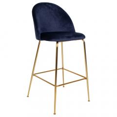 House Collection Barkruk Liva Gold Blauw