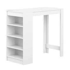 Interia Table De Bar 115 cm Vega Blanc