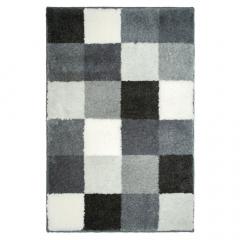 Casilin Tapis de Bain Blocks 60 cm x 90 cm Grey