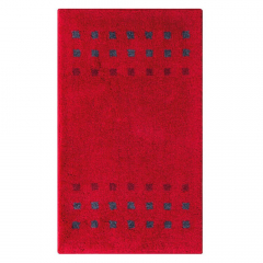 Casilin Tapis de Bain Brica 60 cm x 100 cm Red