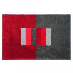 Casilin Tapis de Bain Elba 60 cm x 90 cm Red