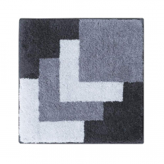 Casilin Tapis de Bidet Graduale 60 cm x 60 cm Grey