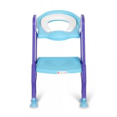 Baninni Réducteur de Toilette avec Marche Trappola Bleu
