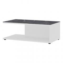 Vendomo Table Basse Klaus - Blanc - Marbre