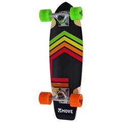 """Move Skateboard 23"""" Cruiser Neon"""