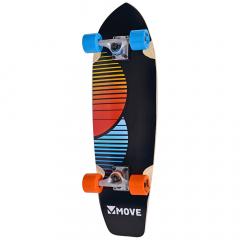 "Move Skateboard 30"" Cruiser Chill"