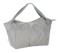 Lässig Tweeling Luiertas Twin Bag Triangle Light Grey
