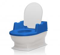Reer Kindertoilet SitzFritz Blauw