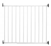 Reer Barrière De Sécurité - Barrière À Vis Basic Simplelock Blanc - 68 Cm À 106 Cm