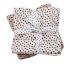 Done By Deer Tetradoek Swaddle Pack Happy Dots Powder - 2 Stuks