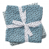 Done By Deer Tetradoek Swaddle Pack Happy Dots Blauw - 2 Stuks