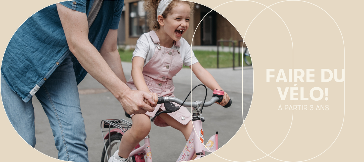 Vélos enfants à partir de 3 ans