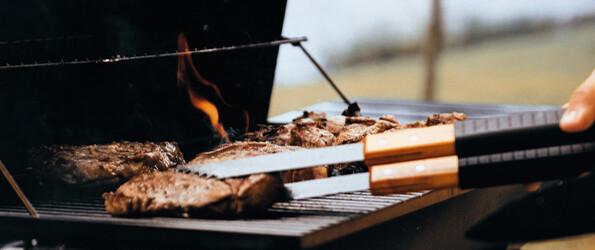 Genieten van een lekkere barbecue