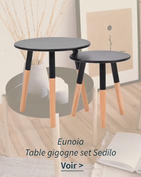 Table gigogne set Sedilo