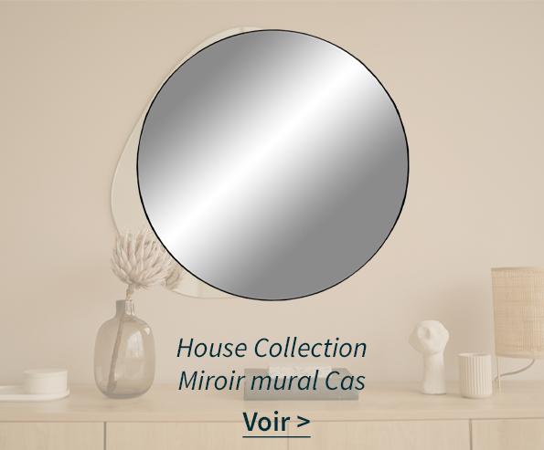 Miroir mural Cas