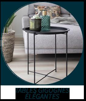 Tables gigognes élégantes